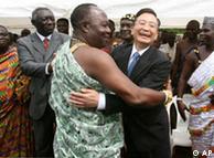 Kineski premijer Ven Điabao je još 2006. posetio Ganu