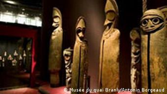 Museum für Primitive Kunst in Paris Masken