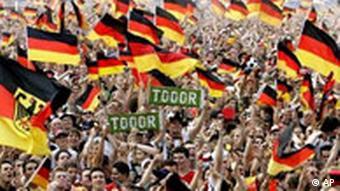 BdT Deutsche Fans Tor WM 2006