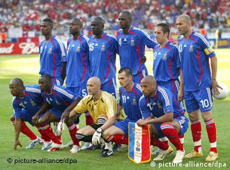 Multi-racial, multi-national, multi-talented: France's players are proud to be French
