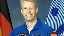 This undated photo provided by NASA shows STS-121 Mission Specialist Thomas Reiter, of Frankfurt, Germany. A crew of seven astronauts is scheduled to lift off Saturday, July 1, 2006, onboard the space shuttle Discovery. (AP Photo/NASA)