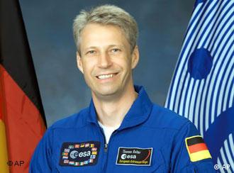 Der Astronaut Thomas Reiter (Foto: AP Photo/NASA)