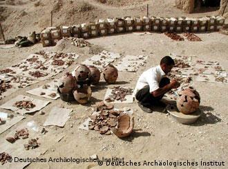 اكتشافات أثرية هامة في غرب الأقصر للمركز الألماني للآثار المصرية 0,,2070127_4,00
