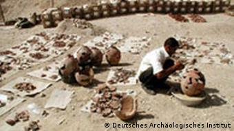Rekonstruktion eines Gefäßes, Archäologie