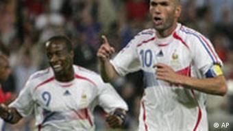 Sidney Govou sa Zinedinom Zidaneom