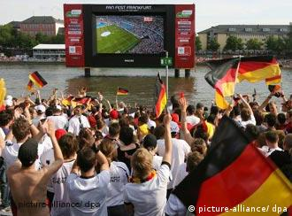 Millions have flocked to the open-air fan fests around Germany to watch the World Cup