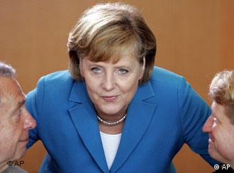 Merkel has a very different style from Putin