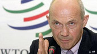 Former EU Trade Commissioner and current WTO Director-General Pascal Lamy
