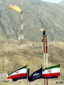Öl und Gasfeld in Iran