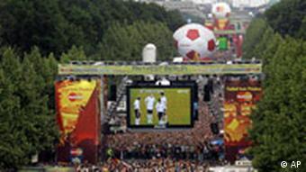 WM Bilder des Tages 30.06.2006 Fanmeile Berlin