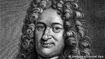 Zeitgenössische Darstellung des deutschen Mathematikers Philosophen, Diplomaten, Physikers und Historikers Gottfried Wilhelm Leibniz (1646-1716) - Foto: picture-alliance / dpa