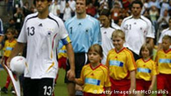 Craftiness Gets Kids Onto The Field World Cup 2006 Dw
