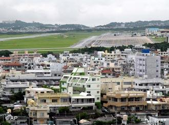 US military base in Okinawa