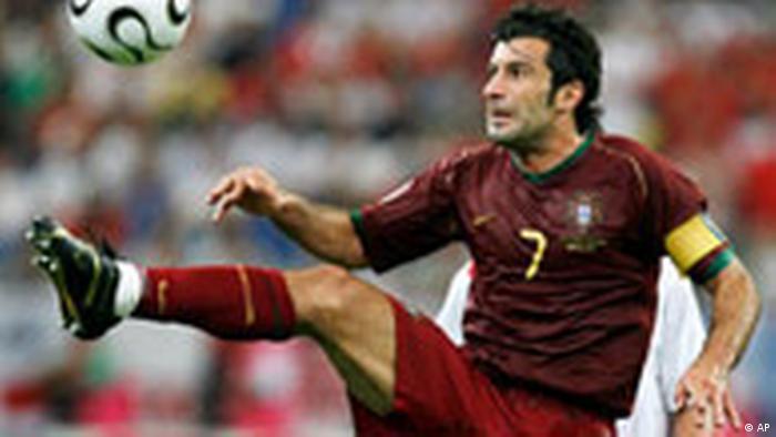 WM Fußball Portugal Luis Figo (AP)