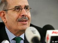 محمد البرادعی، مدیر کل سابق آژانس بینالمللی انرژی اتمی