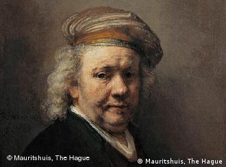 Rembrandt, autoportret realizat cu puţin timp înaintea morţii