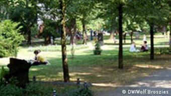 Berlin Prenzlauer Berg Im Friedhofspark