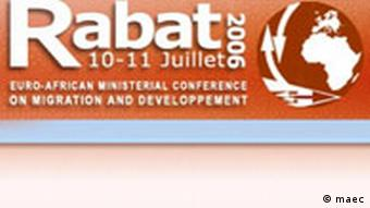 Euro-African Conference on migration and development Logo