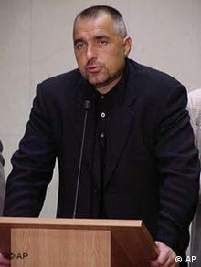 Bojko Borisov Sofioter Bürgermeister