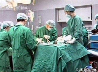 Organtransplantation in Schanghai