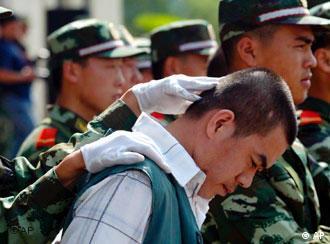 Die Regierung in China setzt massiv auf die Todestrafe, um eine harmonische Gesellschaft aufzubauen