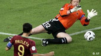 WM 2006 Deutschland Portugal Spielszene
