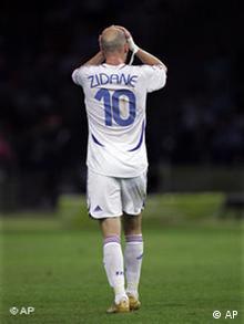 WM 2006 Finale Italien Frankreich Abgang Zidane