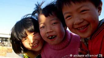 China - Kinder Bevölkerung Erziehung Bildung Schule Armut