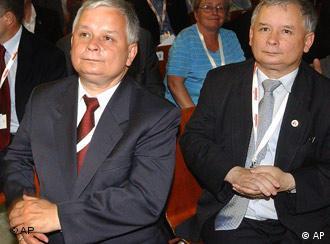 Lech i Jaroslaw Kaczynski