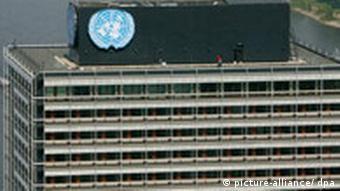 A UN building in Bonn