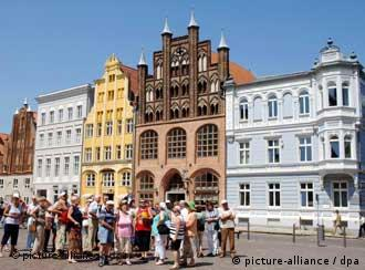 Höchste Sicherheitsvorkehrungen in der Hansestadt an der Ostseeküste