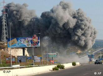 An Israeli air raid targeted a bridge in southern Lebanon