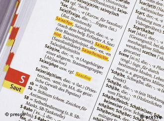 Ein Wörterbuch