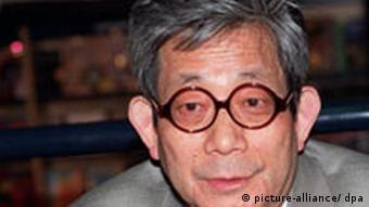 KENZABURO OE 1994 Nobel Laureate Winner Pictured at the launch of his book...