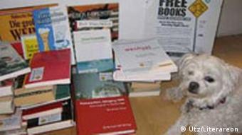 Offizielle BookCrossing Zone im Utz Verlag, München