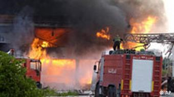 Libanon, israelische Militäroffensive, Feuerwehr