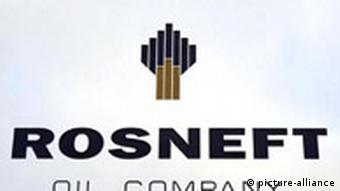 Rosneft sign