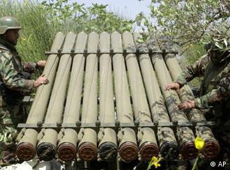 Syrien und Iran unterstützten die Hisbollah mit Waffen