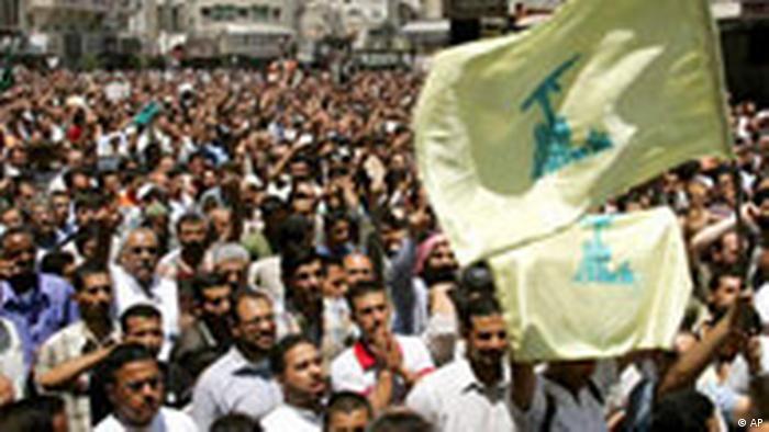 Solidarität mit der Hizbollah