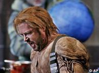 Stephen Gould encarna Siegfried, no ensaio para o festival