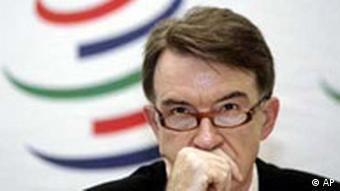 WTO Peter Mandelson