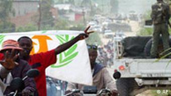 Wahkampf im Kongo