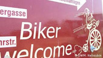 Fahrradtour am Rhein