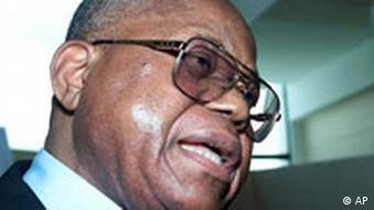 Wahlkampf im Kongo - Etienne Tshisekedi