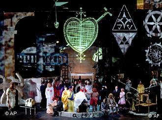 Religious symbols abound in Schlingensief's Parsifal