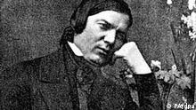 Das zeitgenössische Porträt zeigt den deutschen Komponisten Robert Schumann (1810-1856). Quelle: dpa
