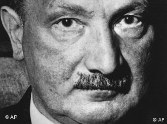A picture of Heidegger's face