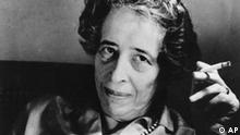 This is a 1969 photo of one of America's political philosopher and scholar, Hannah Arendt. (AP Photo)