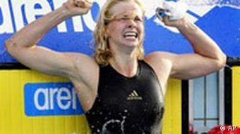 BdT Schwimm-EM in Budapest Zweiter Weltrekord durch Britta Steffen