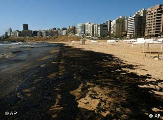 Pollution reached the Lebanese coast and could spread as far as Turkey and Cyprus